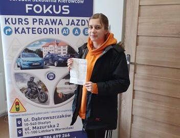Brawo Oliwia!
